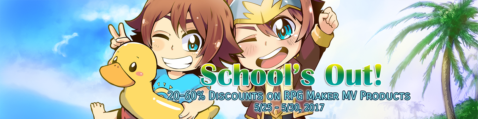 School's Out Sale
