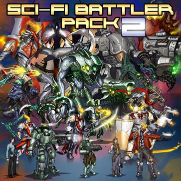 Sci-Fi Battlers 2