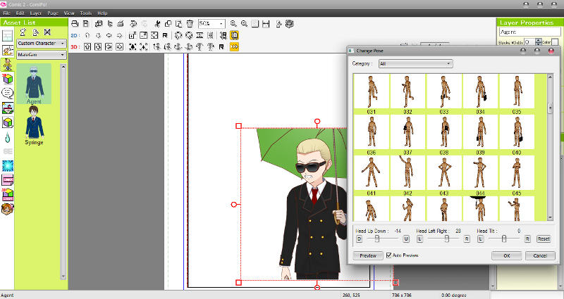 Manga Maker ComiPo! Screenshot 04