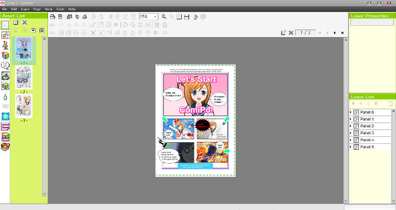 Manga Maker ComiPo! Screenshot 06