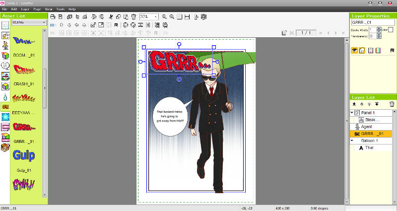 Manga Maker ComiPo! Screenshot 07