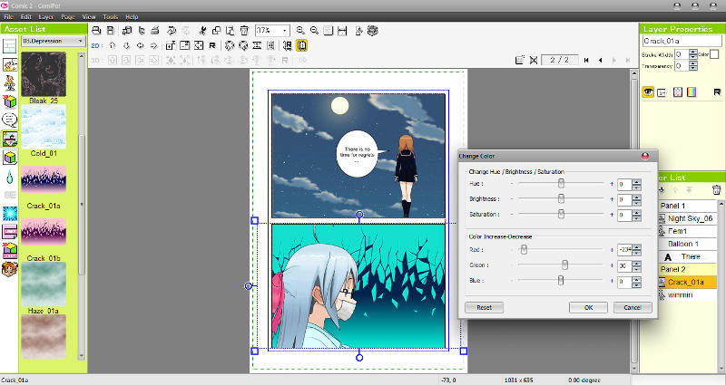 Manga Maker ComiPo! Screenshot 15