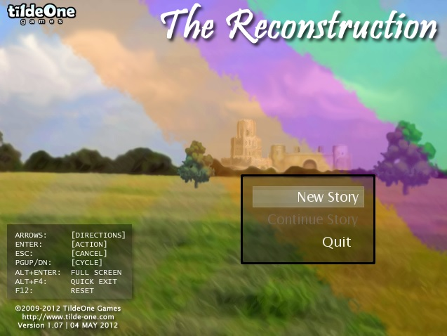The Reconstruction Screenshot 01