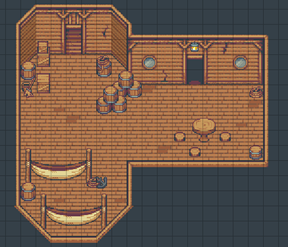 Time Fantasy: Ship| RPG Maker | Create Your Own Game!