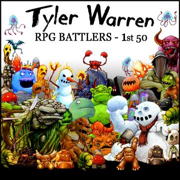 Tyler Warren RPG Battlers – 1st 50