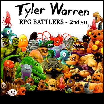 Tyler Warren RPG Battlers – 2nd 50