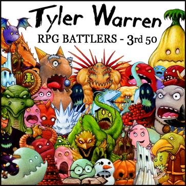Tyler Warren RPG Battlers – 3rd 50
