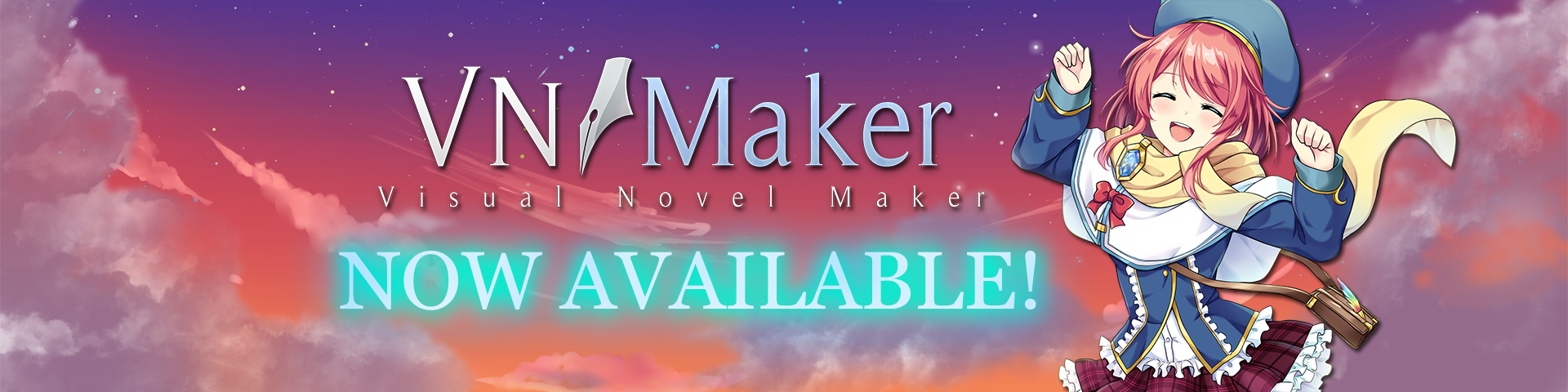 Visual Novel Maker now available!