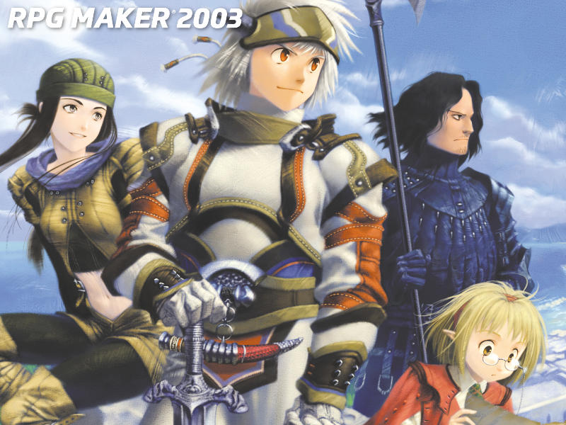 RPG Maker 2003 Wallpaper Sample With Logo