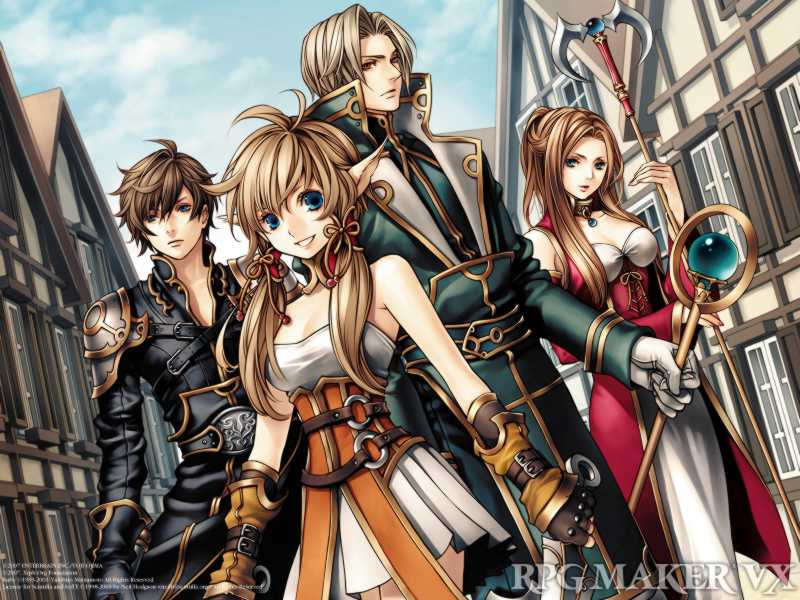 RPG Maker VX Wallpaper Sample Type A