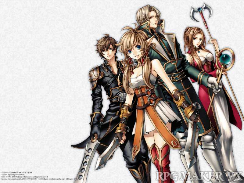 RPG Maker VX Wallpaper Sample Type B