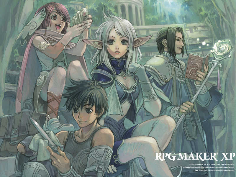 Make Your Own Game with RPG Maker