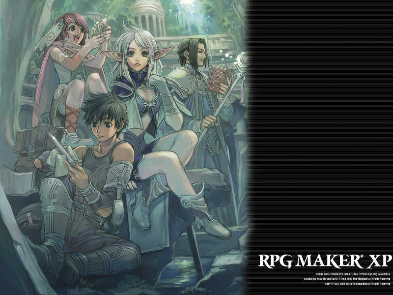 RPG Maker XP Wallpaper Sample Type B