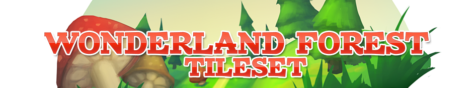 Wonderland Forest Tileset