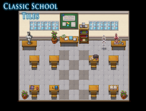 Classic School Tiles | Create Your Own Game!