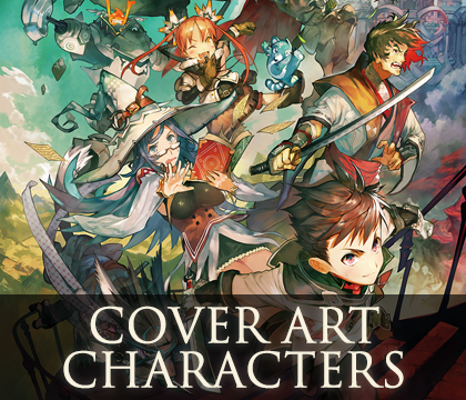 RPG Maker MV : Cover Art Characters Pack   Create Your Own Game!