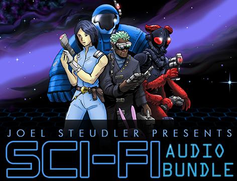 Sci-Fi Audio Bundle | Create Your Own Game!