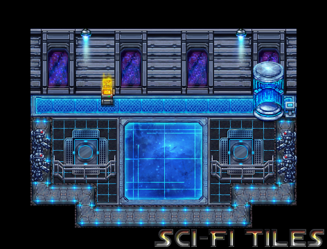 Looking for space style sci-fi resources for MV | RPG Maker
