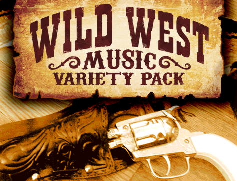 Wild West Music Variety Pack | Create A Game!