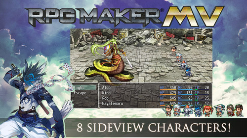 RPG Maker MV : Cover Art Characters Pack | Create Your Own Game!