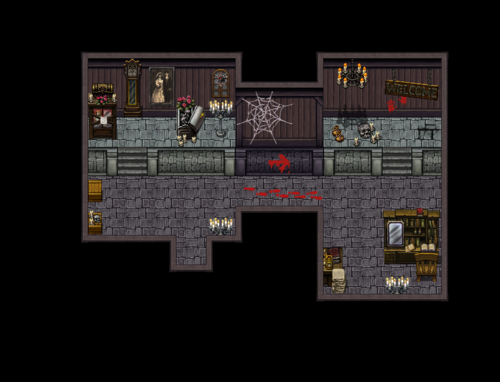 Haunted School Tiles| RPG Maker | Create Your Own Game!