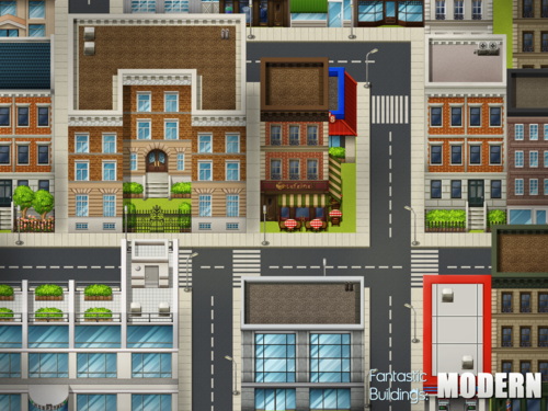 Fantastic Buildings Modern Rpg Maker Create Your Own Game