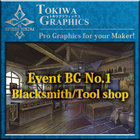 TOKIWA GRAPHICS Event BG No.1 Blacksmith/Tool shop