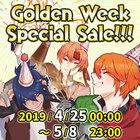 Golden Week Special Sale!!!
