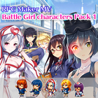 Battle Girl characters Pack 1