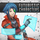 Futuristic Characters Pack