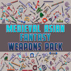 Medieval Asian Fantasy Weapons Pack