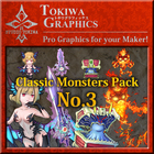 TOKIWA GRAPHICS Classic Monsters Pack No.3