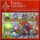 TOKIWA GRAPHICS Classic Monsters Pack S No.2
