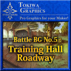 TOKIWA GRAPHICS Battle BG No.5 Training Hall/Roadway