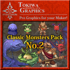 TOKIWA GRAPHICS Classic Monsters Pack No.2