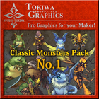 TOKIWA GRAPHICS Classic Monsters Pack No.1
