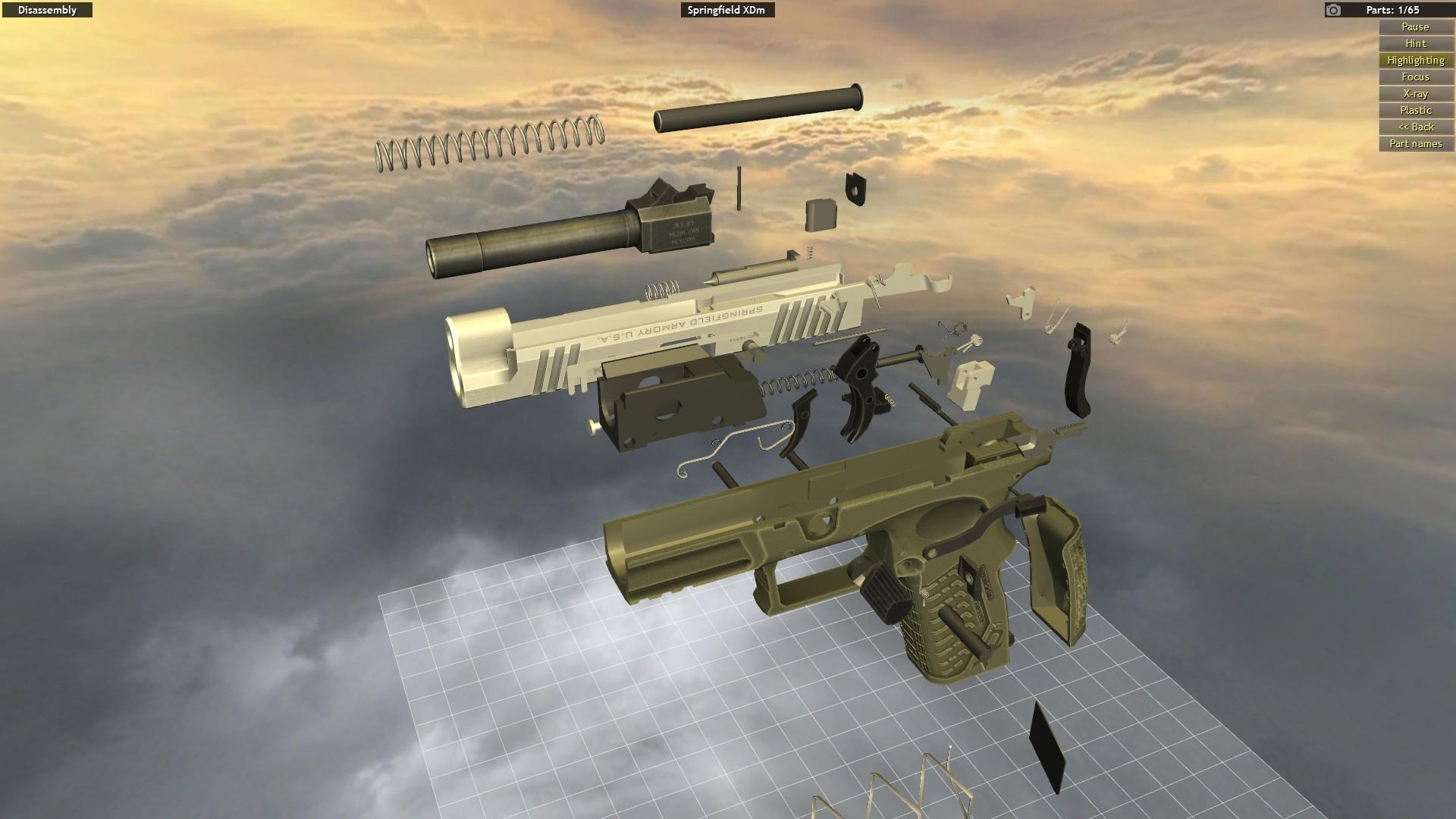 なんでもいいからバラバラにしたいぞ world of guns gun disassembly