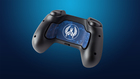 Steam Controller Skin - CSGO Blue Camo (back)