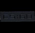 CS:GO - ロゴ パッチ (Black)