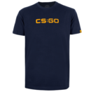 CS:GO - ロゴ Tシャツ (Navy Blue) Sサイズ