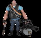 TF2 - BLU Heavy アクションフィギュア(アイテムコード付)