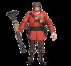 TF2 - RED Soldier アクションフィギュア(アイテムコード付)