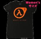 Half-Life - ラムダロゴ Tシャツ Women's Sサイズ