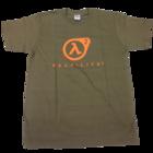 Half-Life - ラムダロゴ Tシャツ Men's Sサイズ (Olive)