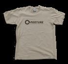Portal - Aperture Tシャツ (Silver Grey) Mサイズ